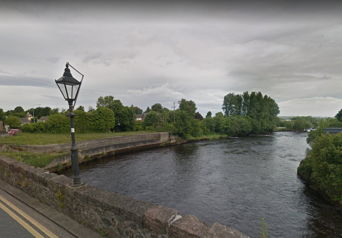 The River Moy in Foxford. Photo: Google Maps