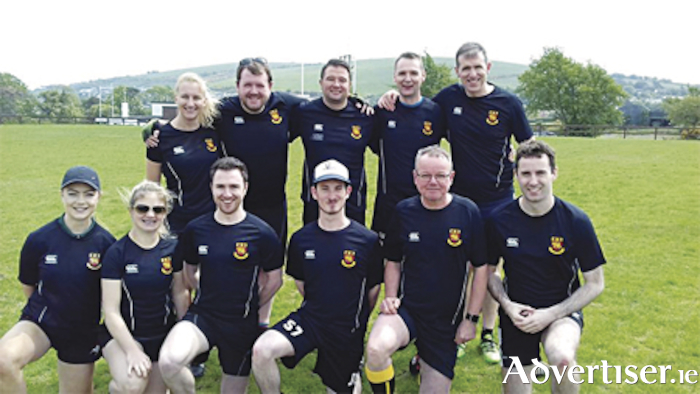 Back Row (L to R): Kyra Wildy, Anthony Mangan, Nigel So, Rory Silke, Denis