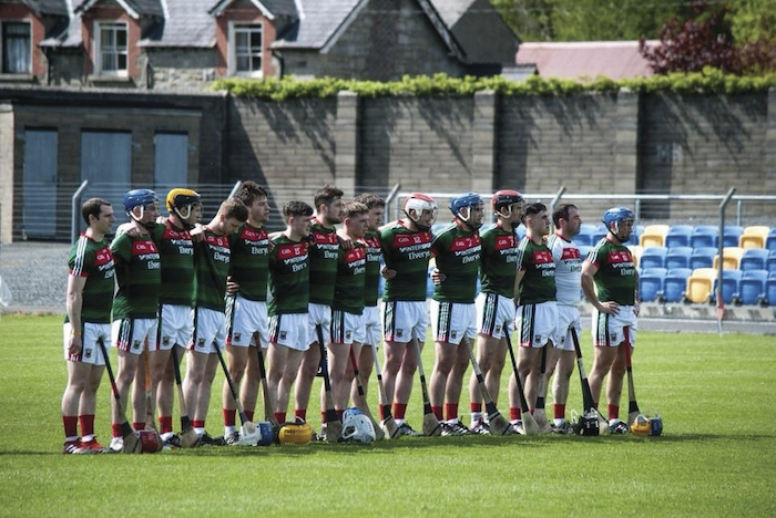 The Mayo senior hurlers are facing into a must win game tomorrow. Photo: Mayo GAA.
