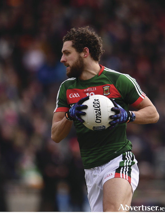 On the road to recovery: Tom Parsons is ready for the long road back to representing Mayo again. Photo: Sportsfile.