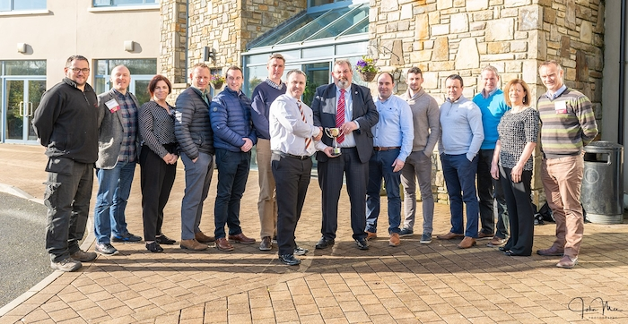 The Woodlands BNI group, which is made up of 15 business people from Kiltimagh and surrounding areas was recently given the regional Pride of BNI Award.