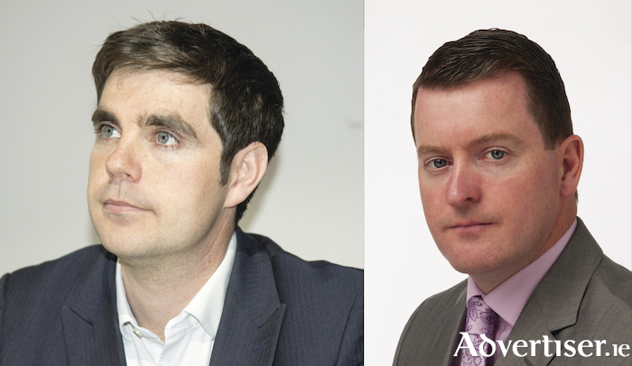 Social Democrats Niall Ó Tuathail and Fianna Fáil councillor Peter Keane - both may run at the next election, but only one of them will win a seat.