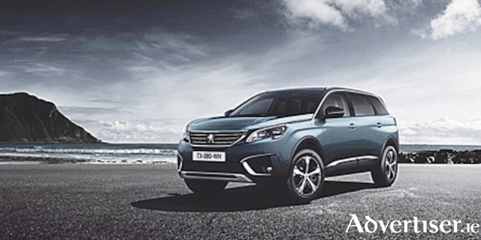 The new Peugeot 5008 7-seat SUV, powered by Peugeot's award-winning pure-tech petrol engine