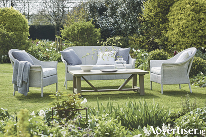 Make your garden the envy of all with this three piece furniture set