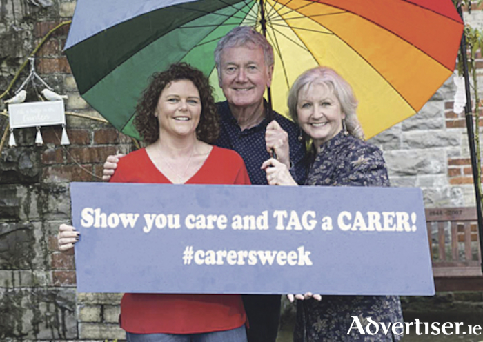 Fair City actors Bryan Murray and Una Crawford O'Brien at launch of National Carers Week