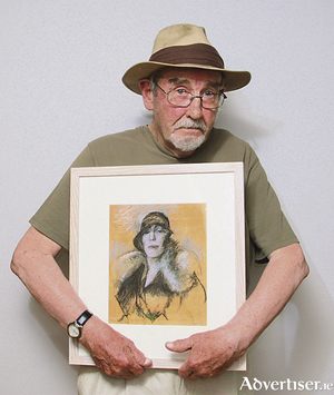 Artist Charles Cullen. 