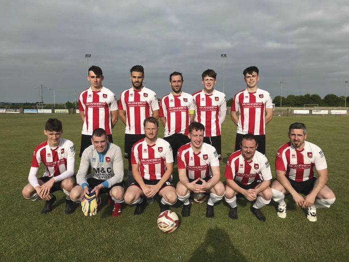 The Ballyglass team who were 3-0 winners last weekend against Ballyheane. Photo: Ballyglass FC