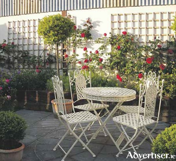 Choose furniture to suit the style of your garden