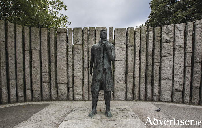 The Wolfe Tone Memorial in St Stephen's Green, Dublin.