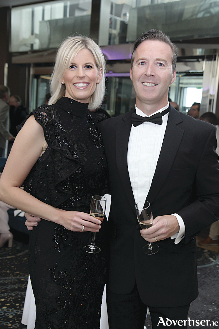 "Pictured at the ""Their Lives Matter"" Ball in the Galmont Hotel were Nina and Mark Donohue. Photo Sean Lydon."