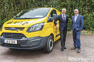 Brendan Nevin, CEO of AA Ireland, with Ciaran McMahon, managing director of Ford Ireland.