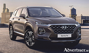 The new Hyundai Sante Fe