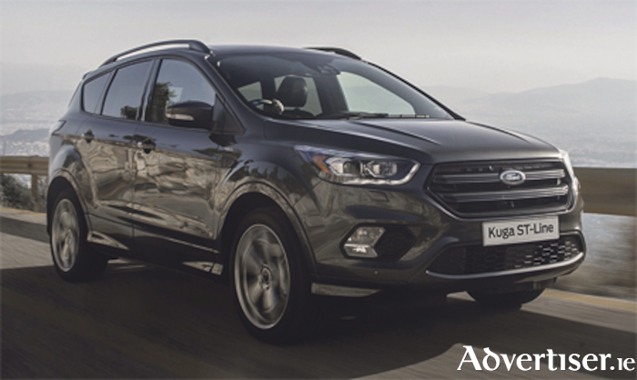 The Kuga St-Line included in Ford's 'Clean up for 182'
