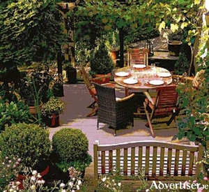 You can fit more than one seating area in most gardens