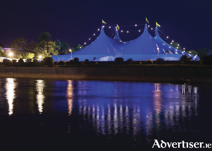 The GIAF Big Top in the Fisheries Field.