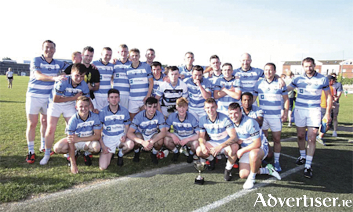 The Athlone squad which claimed the County League Division 4 title