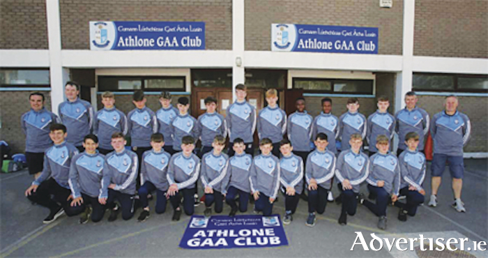 The Athlone U14 squad which claimed All Ireland success at the Feile Peile na nOG