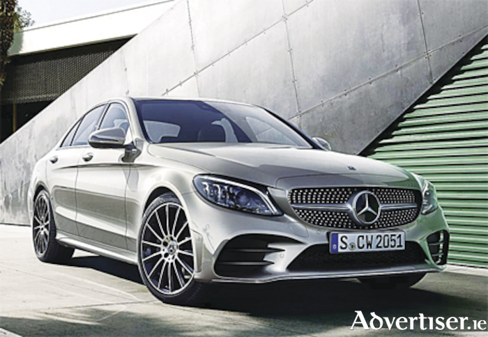 The Mercedes-Benz C Class which has received a mid-term makeover