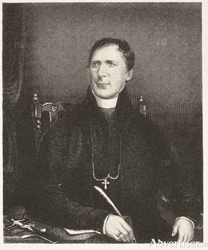 Archbishop John MacHale: thrown off balance by the arrival of the Protestant mission on Achill Island.
