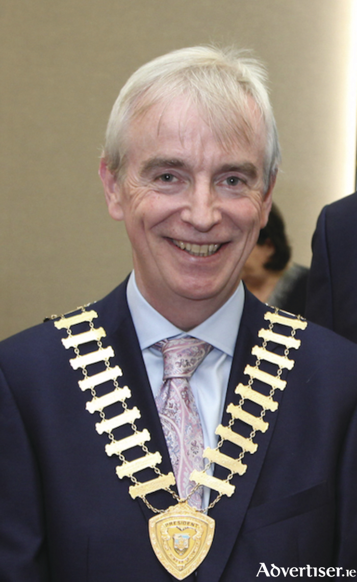 Dave Hickey, president of Galway Chamber.