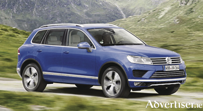 The current Touareg N1.