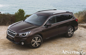 The 2018 Subaru Outback.