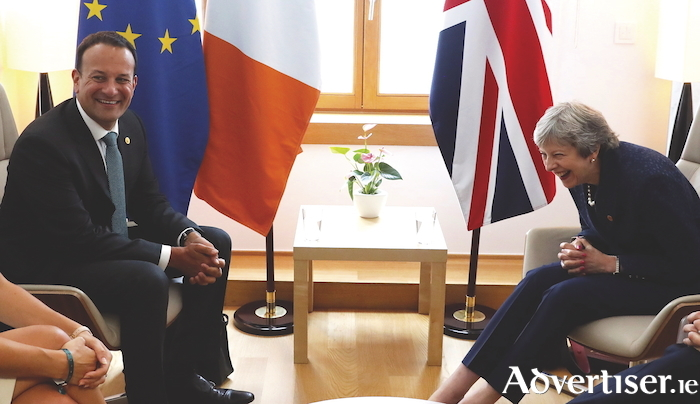 There might not be much to laugh about for either An Taoiseach Leo Varadkar or British PM Theresa May as Brexit rolls on.