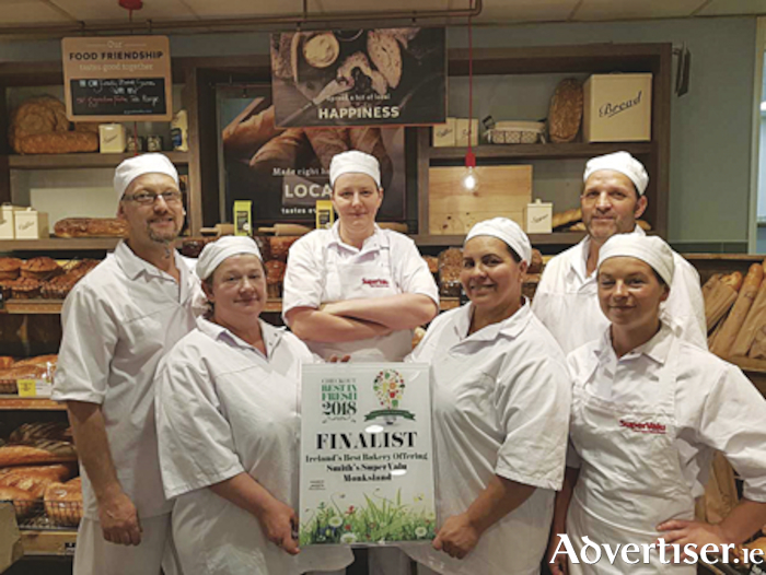 The Smith's Super Valu Monksland bakery team