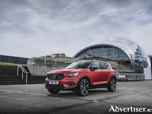 Award winner Volvo XC40, Auto Express Small Premium SUV of the Year.