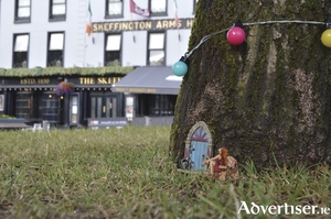 A fairy created by Jim Fitzpatrick. Can you find it in Eyre Square?
