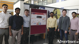 The PrimaryFit website creators  - Louis Queally, Rajit Patel, Paul O'Leary, Akshay Oswal, Dr Trevor Clohessy and Yash Paithankar from NUI Galway. Photo: NUI Galway