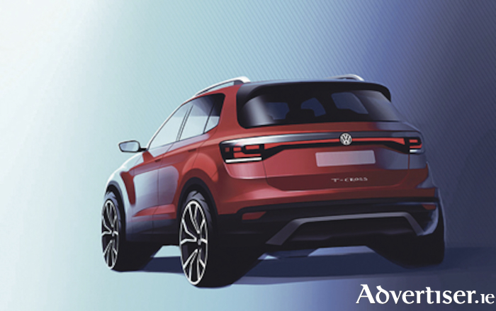 All new Volkswagen T-Cross design