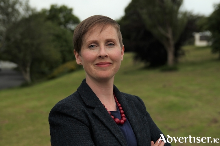 Green Party candidate for Galway West, Pauline O'Reilly.