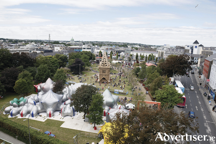 The Festival Garden. Photo: Andrew Downes/Xposure