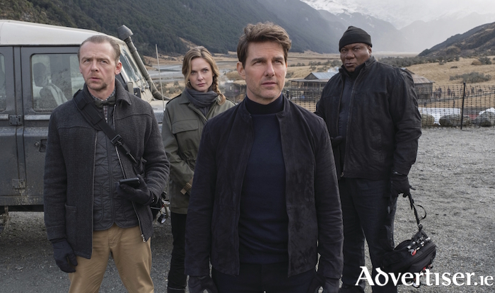 Tom Cruise and friends get set to save the world, yet again.