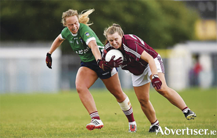 Westmeath's Jennifer Rogers in action in the Ladies Senior Football Championship last weekend.