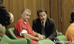 Michael Peterson and David Rudolf.