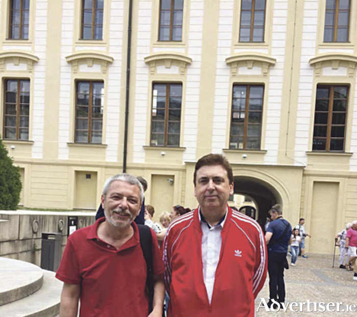 Patrick Murphy (Medical Herbalist) with Dr. Vitezslav Bon ( MD of Energy company in Prague, Czech Republic)