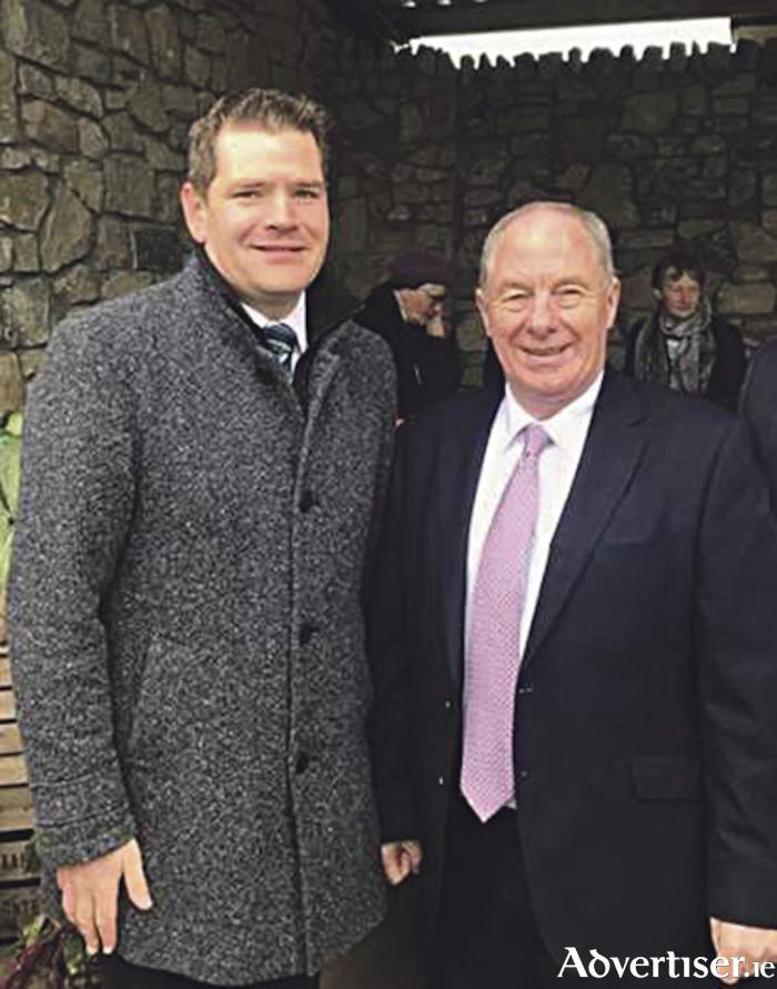 Deputy Michael Ring TD, pictured with Deputy Peter Burke TD