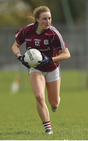Ailbhe Davoren  - a big loss to Galway for the remainder of the season.