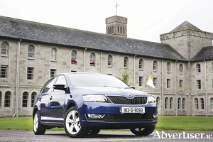 A Skoda Rapid will transport the Pope on his visit to Ireland and then be given to charity.