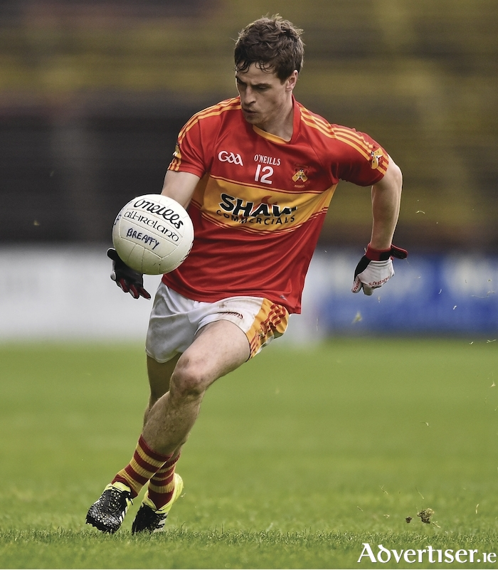 The battle to topple Neil Douglas and his Castlebar Mitchels teammates will resume this weekend when the ball throws in on round two of the Mayo GAA Senior Football Championship. Photo: Sportsfile.
