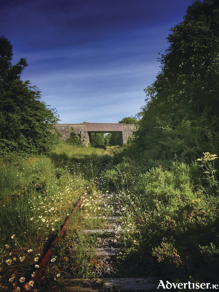 The Tuam to Athenry railway line.