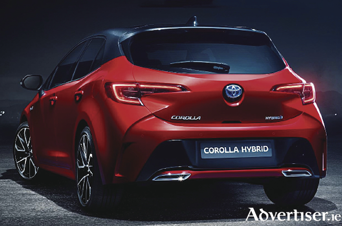 Coming soon, the new Toyota Corolla hybrid.