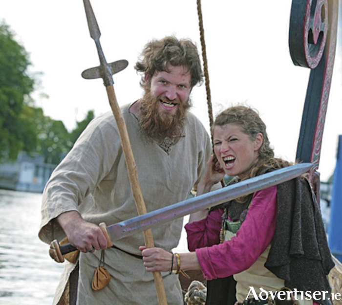 Meet the vikings during the inaugural Athlone Shannon Feastival this weekend