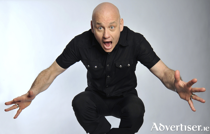 Terry Alderton makes a welcome return to the Róisín Dubh next week.