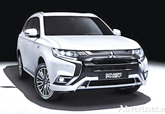 New Mitsubishi Outlander plug-in hybrid