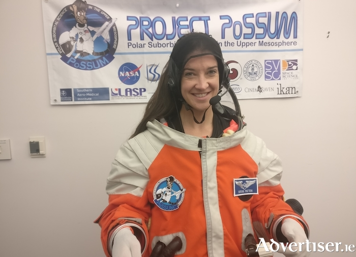 Mayo Astronaut Norah Patten is one of the speakers at Mayo Ideas Week