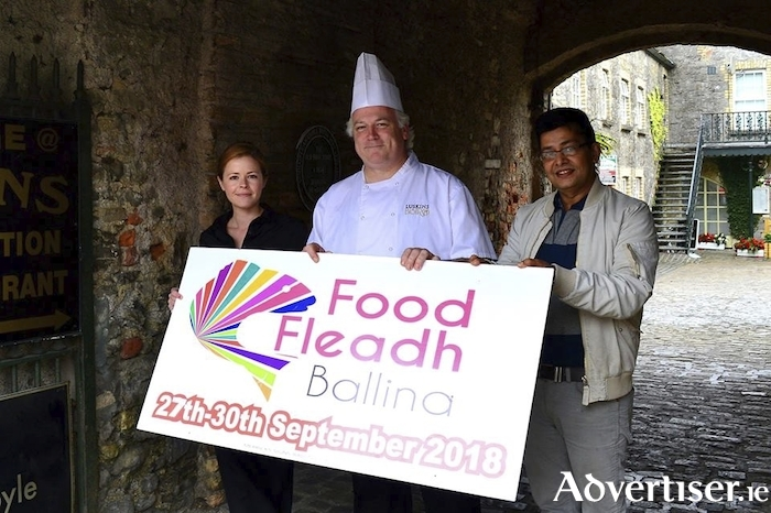 Dillons Bar and Restaurant, Luskin's Bistro and The Everest are teaming up to deliver a three-course Courtyard Trilogy food experience for the 2018 Food Fleadh Ballina.