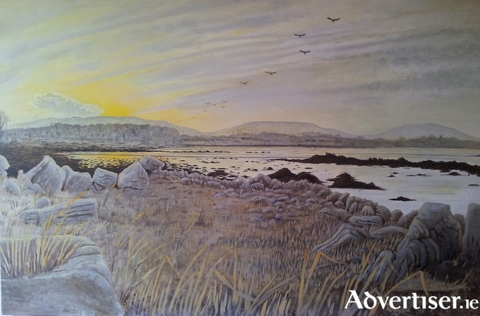 Kinvara From Old Ring Fort by Sam Beardon.